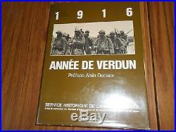 1916 ANNEE DE VERDUN, LAVAUZELLE, 1ère GUERRE MONDIALE 14-18