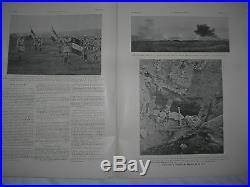 4 REVUES L'ILLUSTRATION JUILLET 1917 N° 3879/80/81/82 -1er GUERRE MONDIALE 14/18
