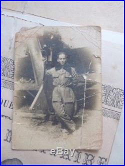 Aeronavale Pilote escadrille 5 B 2 1918 1925 Brevet médailles diplomes