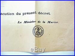 Affiche MOBILISATION 1914 armée de terre et mer