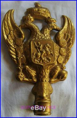 Aigle De Pavoisement Russie Imperiale