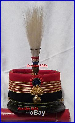 Aigrette modèle 1886 de képi de colonel 1914 1918 14 18 ww1 french casque helmet