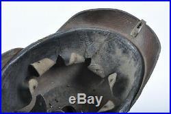 Ancien casque à pointe 1915 sorti de grenier prussien 1914 1918 allemand ww1