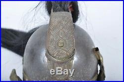 Ancien casque modèle 1874 troupe de Dragons cavalerie 14 18 ww1 poilu