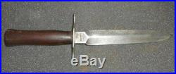 Ancien couteau militaire dit le vengeur WWI