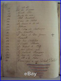 Ancien livre de chansons manuscrit et illustré guerre de 14/18