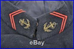 Ancien paletot Infanterie coloniale tirailleurs RIC poilu marsouin 14 18 ww1