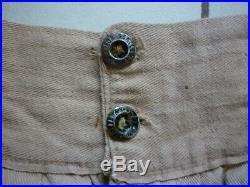 Ancien pantalon sarouel militaire sable Troupes d' Afrique colonial années 1920