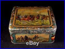 Ancienne boîte publicitaire Bouillon BOL 125 Cubes poilus France guerre 14-18