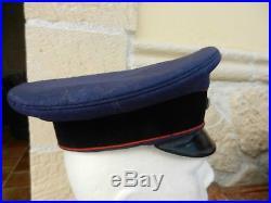 Ancienne casquette coiffure allemande 1914/18