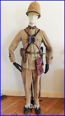 Armee D'orient Dardanelles Lot Tenue Uniforme Casque Officier Détat Major