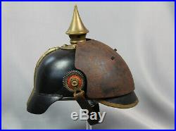 Armure frontale pour casque à pointe 1wk helm helmet spiked helmet ww1