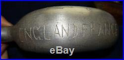 Artisanat De Tranchée 14-18 Ww1 Trench Art Aluminium Engraved Cantine