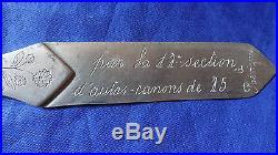 Artisanat Tranchee Zeppelin L. Z 77 Ww1 Engr Cut Paper Trench Art Zeppelin L. Z 77