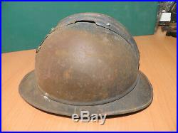 Authentique CASQUE ADRIAN GENERAL DE DIVISION 14-18, french general helmet ww1