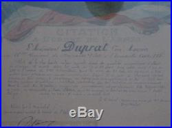 Aviation 1914 1918 10ém Huassard PILOTE Escadrille 115 citation aout 1911