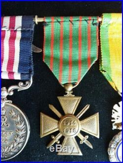 Aviation 1914 1918 Portée de Médailles S A L 16 FOR BRAVERY in the Field
