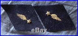 Aviation, pattes de cols aviateur officier 1 ere guerre mondiale