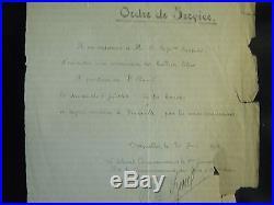 BREVET D' AVIATEUR/AEROSTIER/BALLON MILITAIRE FRANCAIS CAP. BRAQUET WWI lot