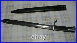Baionnette mauser 98/05 ww1