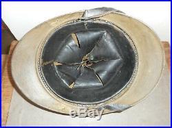 Beau Casque Adrian Mle 1915 Infanterie Colonial + Plaque