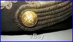 Beau bicorne, chapeau pour un Général de l' Infanterie, époque 1 ère guerre