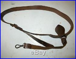 Beau ceinturon d' Officier de Cavalerie (Cuirassier, Dragon) cuir fauve, 1914-18