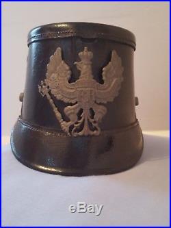 Beau shako Prussien ww1