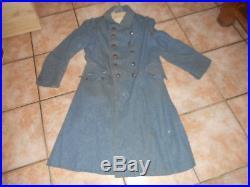 Belle Capote Fr Mle 1915 De Poilu Bleu Horizon