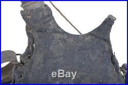 Bidon gourde 1877 1 litres housse gris de fer bleuté poilu 14 18 infanterie ww1