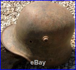 Bonne coque casque allemand mle 1916