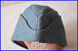 Bonnet de police de poilu m1915 bleu horizon