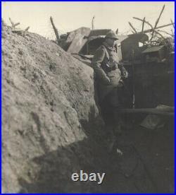 Bouclier offensif individuel français 1915 (plaque de guetteur)
