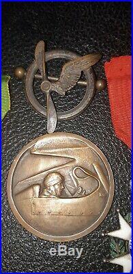 Brevet Observateur Pilote As 1914 Medaille poilu aviateur