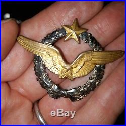 Brevet de pilote français aviation 1914-1918 aviateur as casque Roold