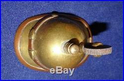 Briquet De Poilu Casque A Pointe Ww1 Trench Art Spike Helmet Lighter Grabenarbei