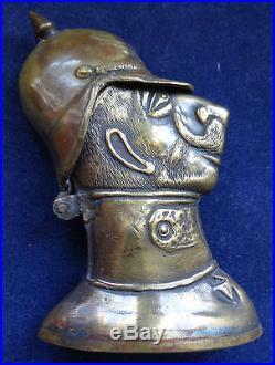 Briquet De Poilu Guillaume II Ww1 Trench Art Lighter Wk1 Feuerzeug Willhelm II