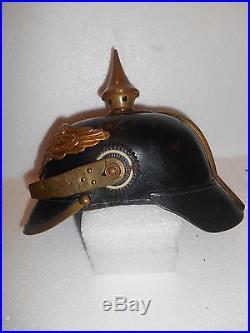Casque A Pointe / Pickelhaube / Helmet / Wwi