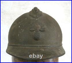 CASQUE ADRIAN INFANTERIE, beau casque adrian, casque ww 1, WW I
