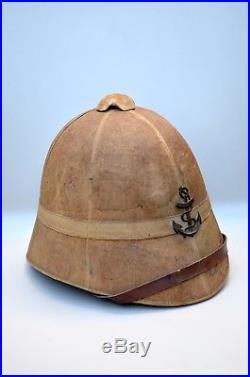 CASQUE COLONIAL PAIN DE SUCRE MODÈLE 1886 infanterie de marine