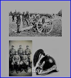 CASQUE D'ESSAI Mle 1902 pour l'ARTILLERIE 1914 1918
