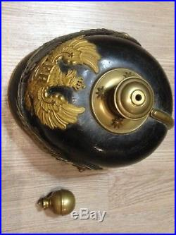 CASQUE POINTE OFFICIER ARTILLERIE RESERVE/Mod 1895/ HELMET / PICKELHAUBE / WWI