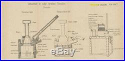Caisse débouchoir canon schneider 155 c modèle 17 artillerie obus ww1 ww2