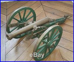 Canon travail compagnonage ancien artillerie fonctionnel