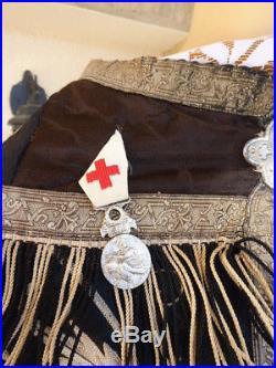 Cape Religieuse de deuil aumonier militaire 1914/1918