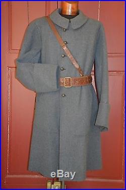 Capote Bleue Horizon Artillerie-artilleur 1915- French Artillery Officer Coat