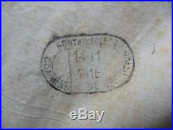 Capote Mle 15 Bleu Horizon daté 1916 WW1 14-18
