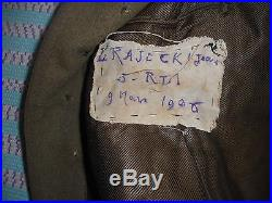 Capote Off Fr Du 3 Rgt Tirailleur Marocain Mle 1920/30
