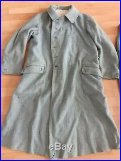 Capote et pantalon bleu horizon 1914 1918
