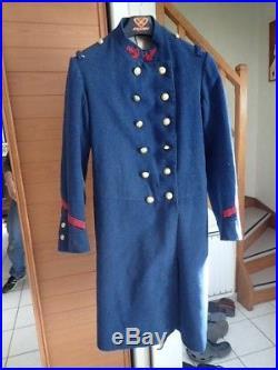 Capote infanterie coloniale 2IC modèle 1873 WW1 14/18 casque uniforme caporal